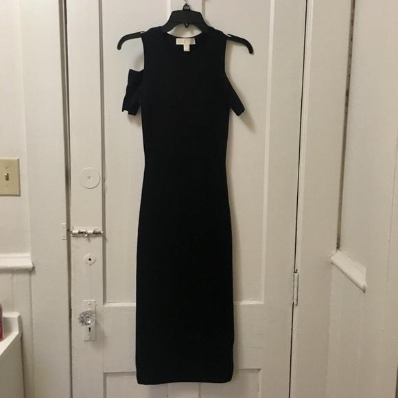 0fffedf3daa2 Michael Kors Dresses | Peekaboo Midi Dress Black | Poshmark